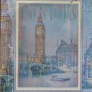 Clemontoni LONDON 500 pc New Wood Effect Jigsaw Puzzle