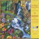 SunsOut WOODLAND BUTTERFLIES 1000 pc New Jigsaw Puzzle Alixandra Mullins