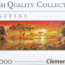 Clemontoni AFRICAN SAVANNAH 1000 pc New Panorama Jigsaw Puzzle