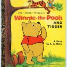 Walt Disney Presents WINNIE THE POOH AND TIGGER Little Golden Book D121 LGB