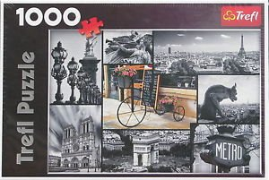 Trefl PARIS COLLAGE 1000 pc New Jigsaw Puzzle