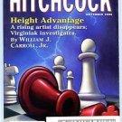 Alfred Hitchcock Mystery Magazine November 2003 William J Carroll Jr Houdini