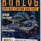 ANALOG SF Magazine January 1998 Ben Bova Joseph H Delaney Paul Levinson