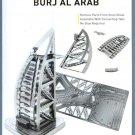 Metal Earth Iconx BURJ AL ARAB HOTEL DUBAI New 3D Puzzle Mini Model