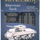 Metal Earth SHERMAN TANK WWII New 3D Puzzle Micro Model