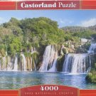 KRKA WATERFALLS CROATIA 4000 pc Jigsaw Puzzle Castorland