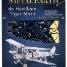Metal Earth DE HAVILLAND TIGER MOTH New 3D Puzzle Micro Model