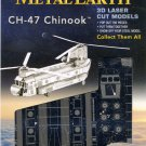 Metal Earth CHINOOK CH47 Boeing Helicopter New 3D Puzzle Micro Model