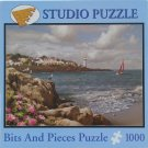 Bits & Pieces HOME BY THE SEA Used 1000 pc Jigsaw Puzzle Alan Giana