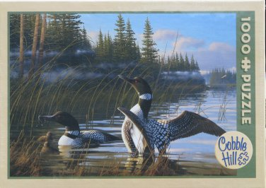 Cobble Hill COMMON LOON 1000 pc Jigsaw Puzzle