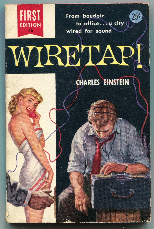 WIRETAP Charles Einstein Robert Schultz GGA First Printing