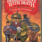 Craig Shaw Gardner A DISAGREEMENT WITH DEATH Ballad of Wuntvor 3 First Printing