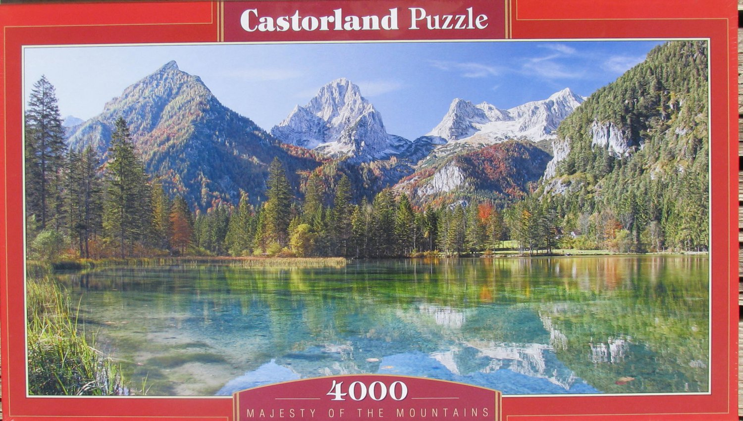 Castorland MAJESTY OF THE MOUNTAINS 4000 pc Jigsaw Puzzle