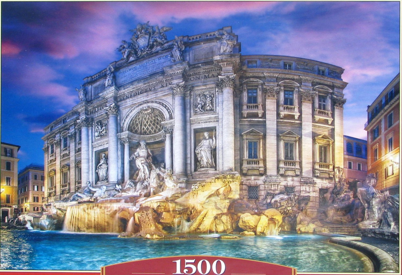 Castorland TREVI FOUNTAIN 1500 pc Jigsaw Puzzle Fontana Di Trevi