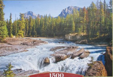 Castorland ATHABASCA RIVER JASPER NATIONAL PARK CANADA 1500 pc Jigsaw Puzzle