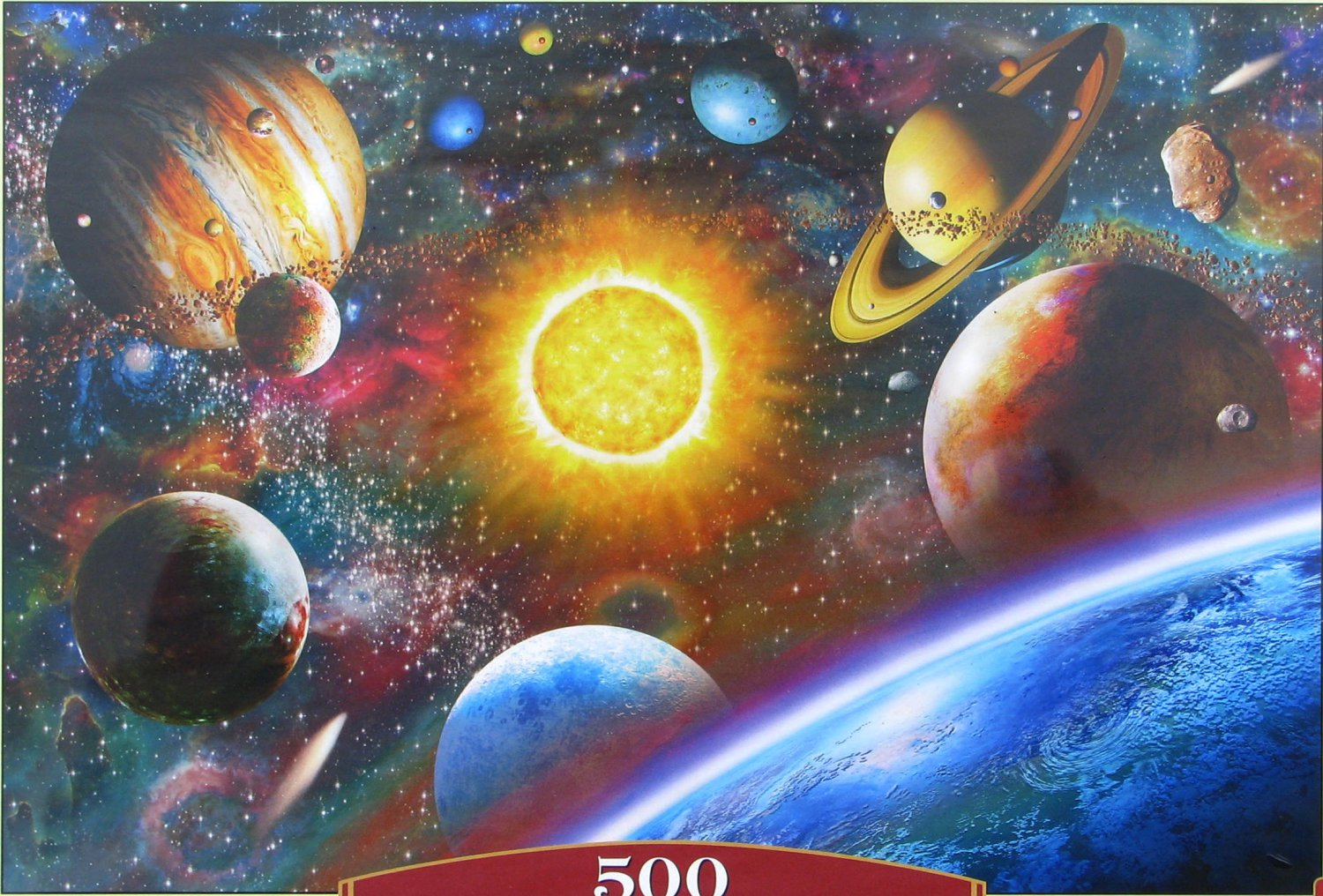 Castorland OUTER SPACE 500 pc Jigsaw Puzzle