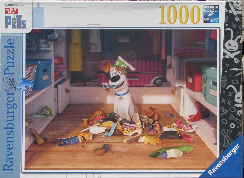 Ravensburger SECRET LIFE OF PETS 1000 pc Jigsaw Puzzle