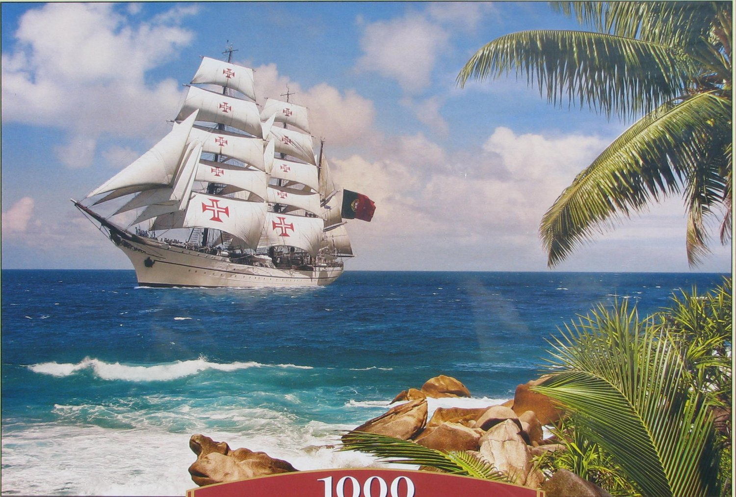 Castorland SAILING IN THE TROPICS 1000 pc Jigsaw Puzzle