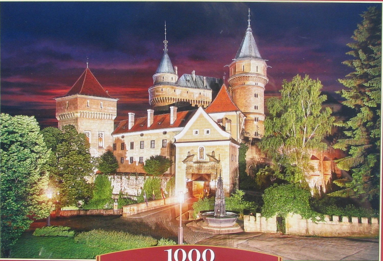 Castorland BOJNICE CASTLE AT NIGHT 1000 pc Jigsaw Puzzle