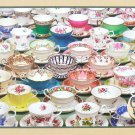 TEACUPS 1000 pc Jigsaw Puzzle Tea Cups Jack Pine Cobble Hill