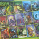 Cobble Hill GOOSEBUMPS Classic Book Covers 275 pc Jigsaw Puzzle R L Stine XL Pieces