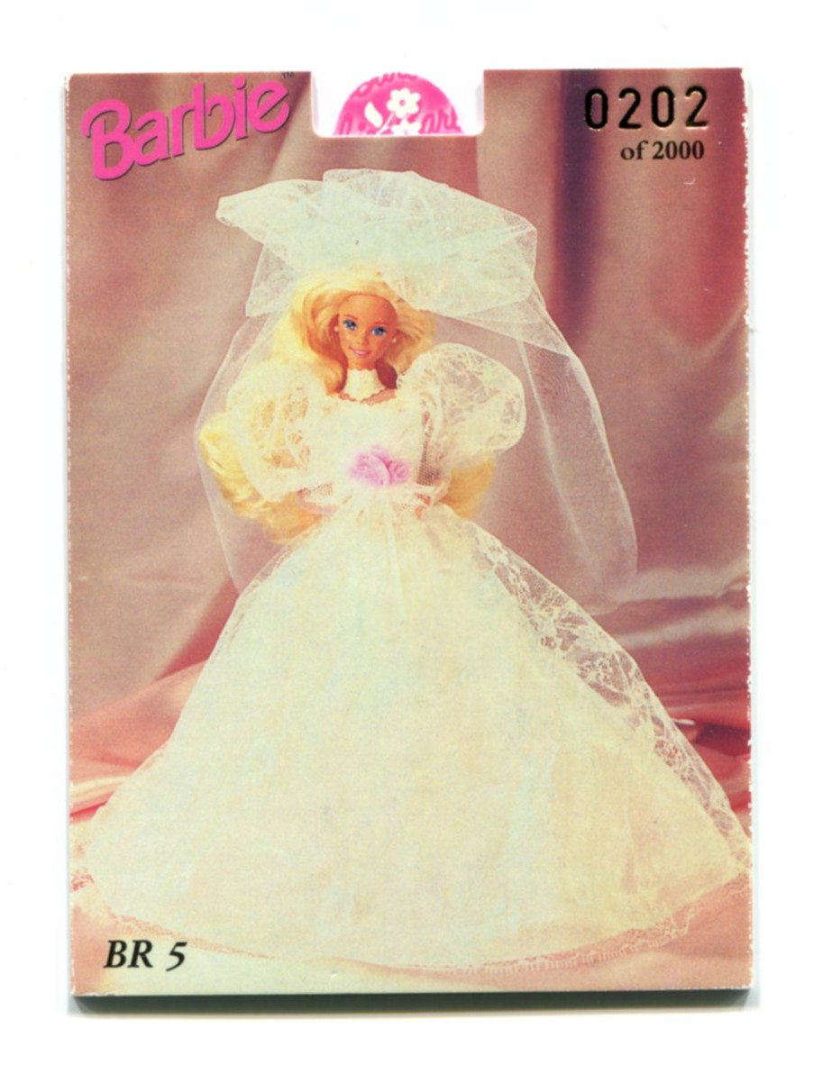 BARBIE AND KEN BR5 Tempo Popup Insert 36 Years of Barbie 1959-1996