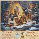 SunsOut MYSTICAL MEETING 1000 pc Jigsaw Puzzle Ross Docken Native American