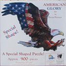 SunsOut AMERICAN GLORY 900 pc Eagle Shaped Jigsaw Puzzle Donna Wayman