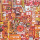 Cobble Hill ORANGE 1000 pc Jigsaw Puzzle Shelley Davies