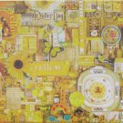 Cobble Hill YELLOW 1000 pc Jigsaw Puzzle Shelley Davies
