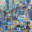 Cobble Hill BLUE 1000 pc Jigsaw Puzzle Shelley Davies
