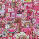 Cobble Hill PINK 1000 pc Jigsaw Puzzle Shelley Davies