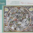 Pomegranate MAP OF THE HEAVENS 1000 pc Jigsaw Puzzle Andreas Cellarius