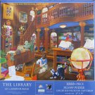 SunsOut THE LIBRARY 1000 pc Jigsaw Puzzle XL Pieces Joseph Burgess