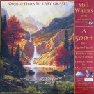 SunsOut Mark Keathley STILL WATERS 500 pc Jigsaw Puzzle XL Pieces
