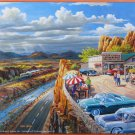 SunsOut Ken Zylla VACATIONING IN THE USA 300 pc Panorama Jigsaw Puzzle