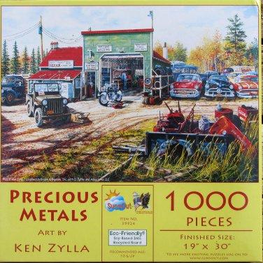 SunsOut Ken Zylla PRECIOUS METALS 1000 pc Panorama Jigsaw Puzzle