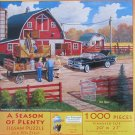 SunsOut Ken Zylla A SEASON OF PLENTY 1000 pc Jigsaw Puzzle Harvest Time