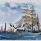 Trefl SAILING TOWARDS CHICAGO 500 pc Jigsaw Puzzle