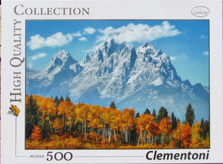 Clemontoni GRAND TETONS IN FALL 500 pc Jigsaw Puzzle