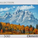 Clemontoni GRAND TETONS IN FALL 500 pc Jigsaw Puzzle