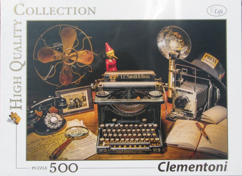 Clemontoni THE TYPEWRITER 500 pc Jigsaw Puzzle