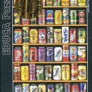 Educa CANS 1000 pc Miniature Jigsaw Puzzle Soda Pop
