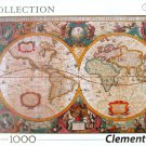Clemontoni OLD MAP 1000 pc Jigsaw Puzzle