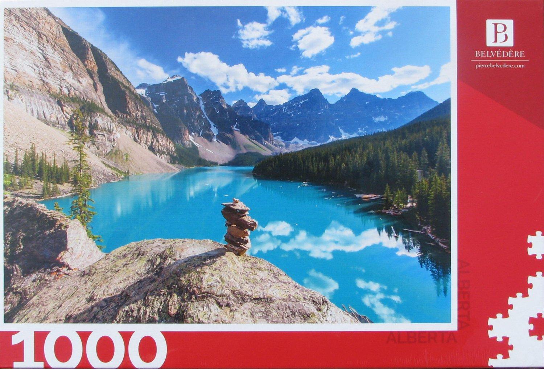 Trefl BANFF ALBERTA CANADA 1000 pc Jigsaw Puzzle