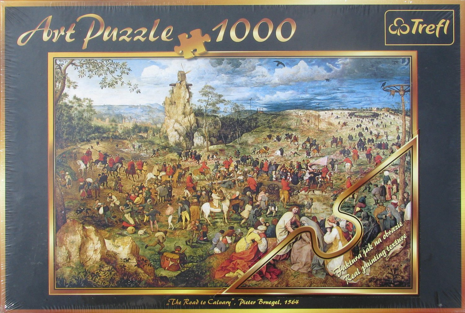 Trefl Brueghel THE ROAD TO CALVARY 1000 pc Jigsaw Puzzle