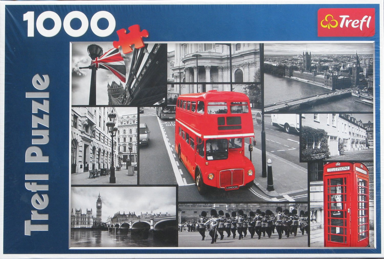 Trefl LONDON COLLAGE 1000 pc Jigsaw Puzzle