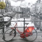 Educa AMSTERDAM 1000 pc Jigsaw Puzzle Colored Black and White Photo