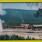 Built Rite YELLOWSTONE OLD FAITHFUL Used 600 pc Vtg Jigsaw Puzzle