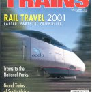 TRAINS Magazine 2001 Lot of 6 Issues